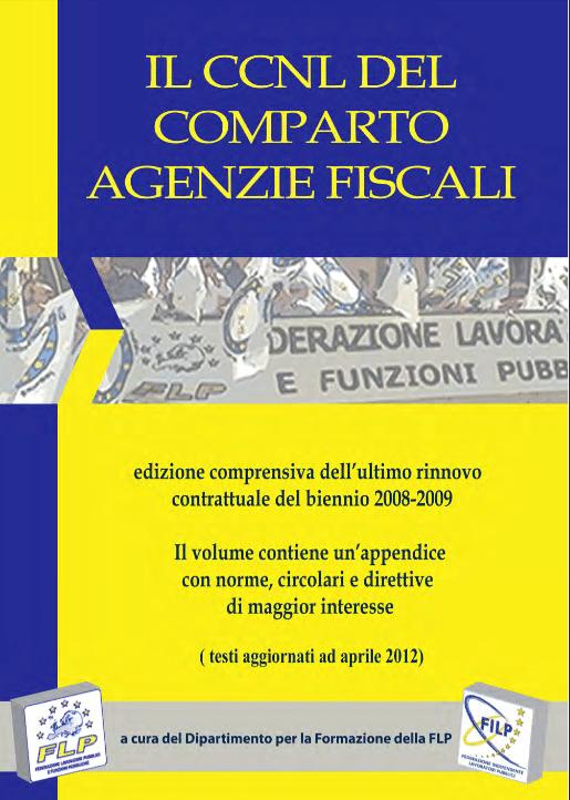 CCNL DEL COMPARTO AGENZIE FISCALI