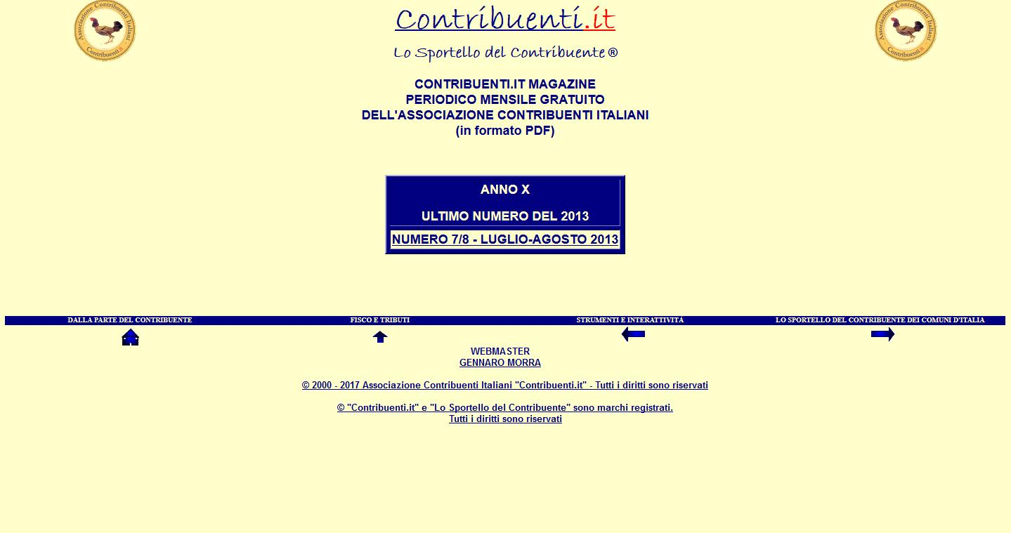 Associazione Contribuenti Italiani – Contribuenti.it