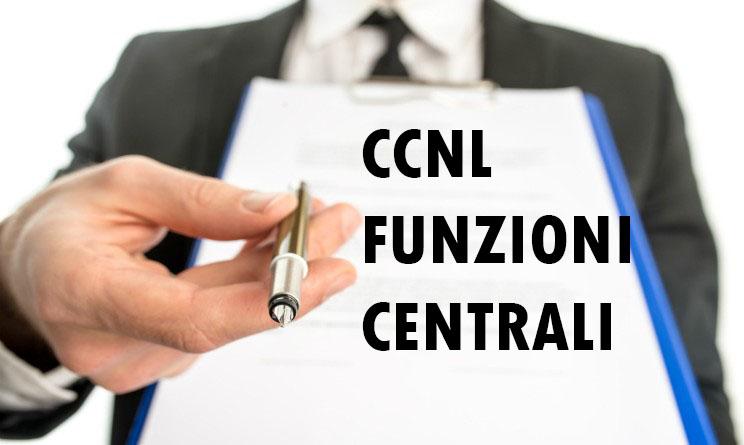 CCNL Funzioni Centrali
